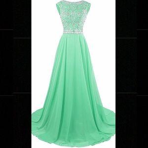 Dresses & Skirts - 💚Mint pageant/prom dress!💚 (size 2)